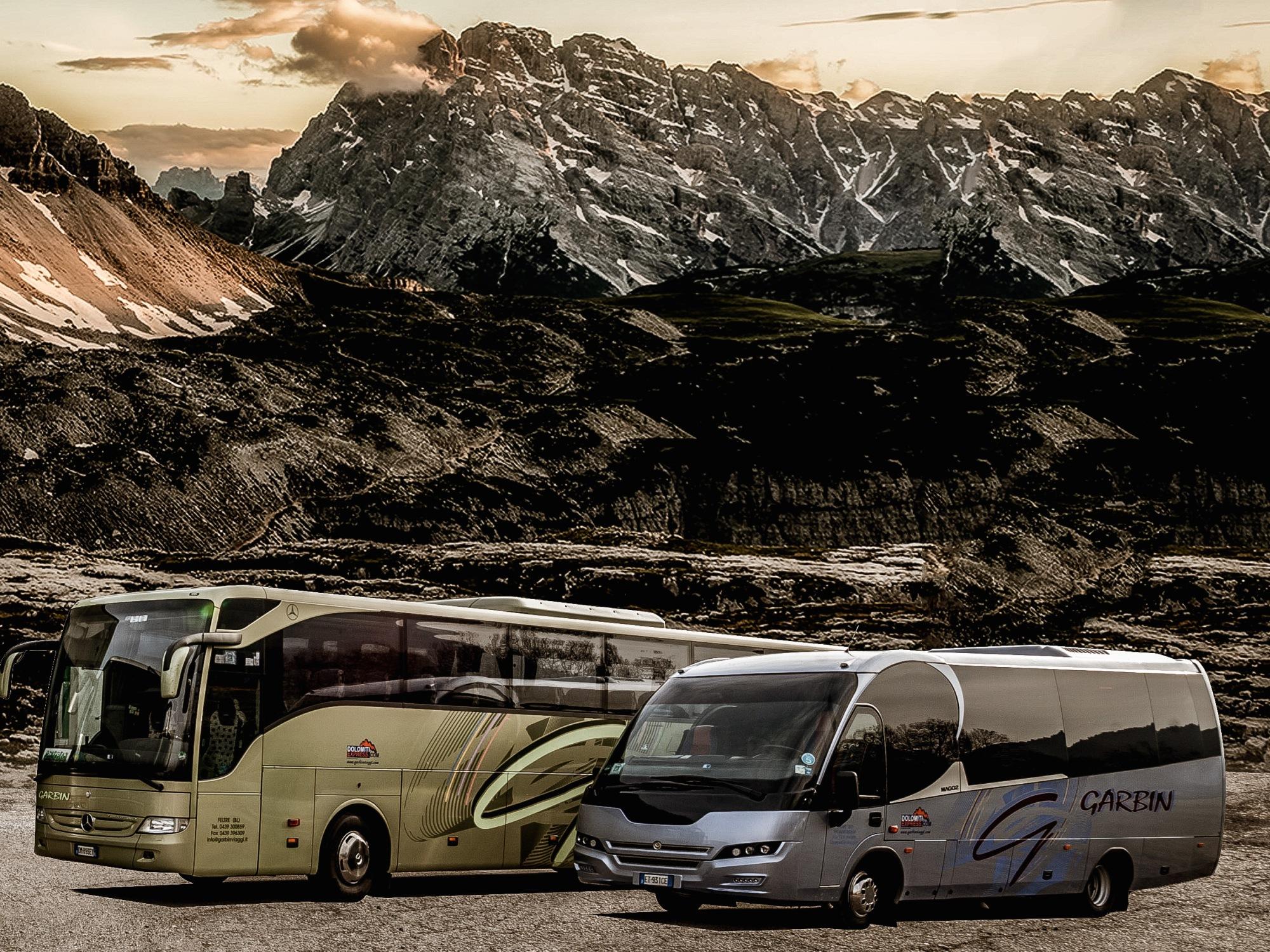 Garbin Autoservizi tra le montagne bellunesi